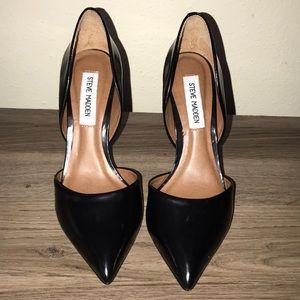 Steve Madden Black Pointy Heels